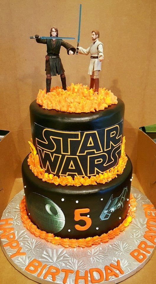 Southern Blue Celebrations Star Wars Cakes