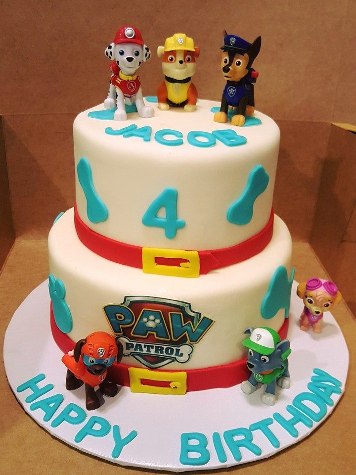 Images Paw Patrol Birthday Cakes