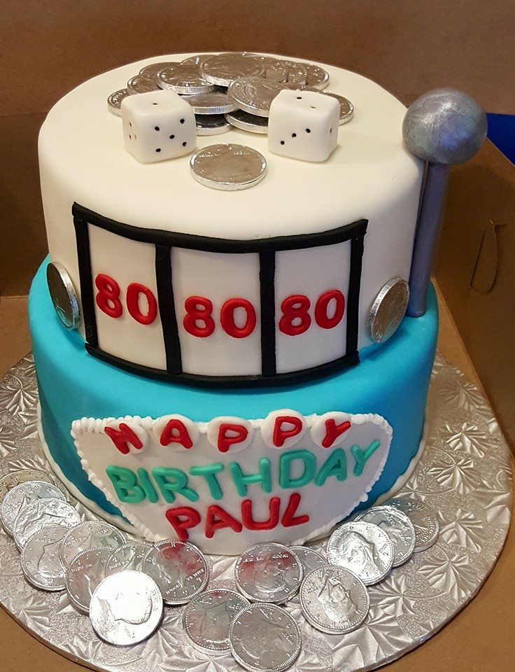 Slot Machine Birthday Cake Images